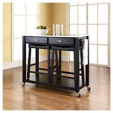 stainless steel top kitchen cart stainless steel top kitchen cart island with stools crosley target