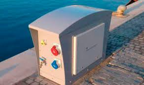 Electrical Service Pedestal Electrical Distribution Pedestal All Boating And Marine Industry