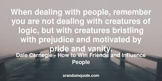 Pride And Vanity Best Image Quotes From How To Win Friends And Influence People
