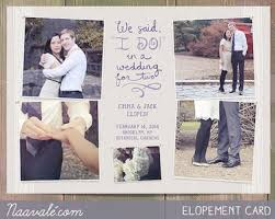 elopement invitations these adorable elopement announcements will make you forget you