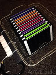 a diy ipad sync charge station app solutely april