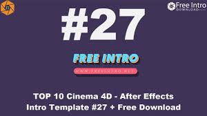 free download top 10 after effects intro 2d intro templates 2017