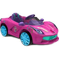 power wheels for girls trolls 6v light up ride on super coupe christmas toys for 2017