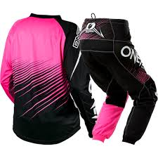 oneal element motocross boots new oneal 2018 mx element black pink jersey pants womens motocross