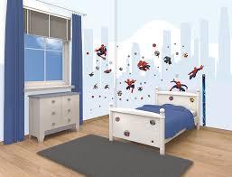 ultimate spiderman room decor kit walltastic