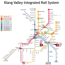 Los Angeles Metro Rail Map by Kl Train Station Map Kl Lrt Map Pdf Inspiring World Map Design