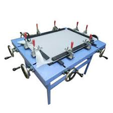 Stretching Table Design Maker Manufacturer Of Screen Printing Machine U0026 Cloth