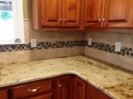 Charlotte Kitchen Cabinets Sienna Beige Granite On Medium Colored Wood Cabinets 4 9 13