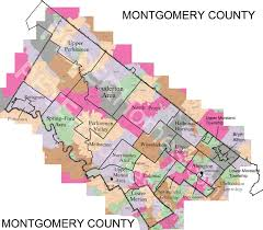 Map Of Phoenix Zip Codes by Montgomery County Zip Code Map Zip Code Map