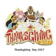your wdw store disney thanksgiving pin 2017 thanksgiving day