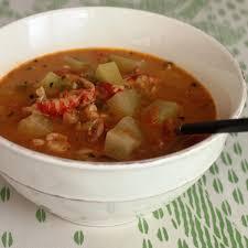 mirliton cuisine crawfish and mirliton soup emerils com
