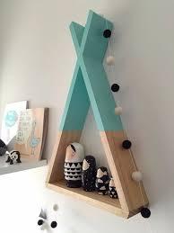 tipi pour chambre décor de salle tipi plateau menthe étagères par ahahonline sur etsy