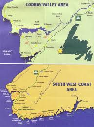 Newfoundland Map Channel Port Aux Basques Codroy Valley Drive 5