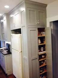 help with cabinets around the refridgerator