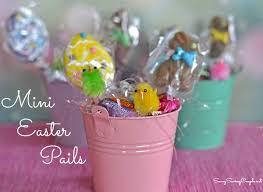 easter pail diy mini easter basket pails for classmate