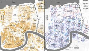 New Orleans City Map People Mapping Through Google Street View