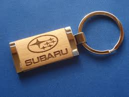lexus key rings uk subaru key chain laser engraved wood great birthday gift