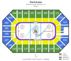 ford park beaumont ford park arena tickets and ford park arena seating chart buy