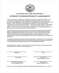 personal confidentiality agreement example personal