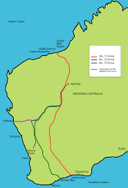 World Map Actual Size File Rabbit Proof Fence Map Showing Route Png Wikimedia Commons