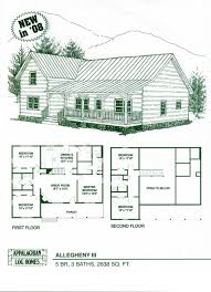 Cabin Plans With Loft by Log Cabin House Plans Spruce Valley Log Home And Log Cabin Floor