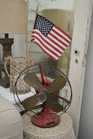 American Flag Living Room by Patriotic Coastal Cottage Living Room