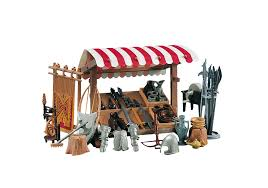 knights market stand 7855 playmobil usa