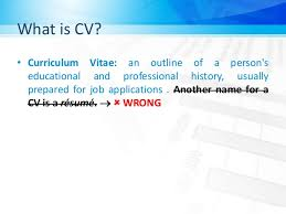 Another Name For Resume Cv Ce Club Interview Workshop Van Lang University