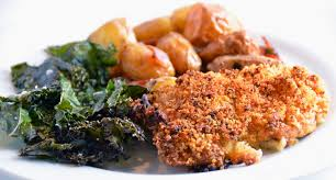crispy mustard roasted chicken crispy english potatoes crispy
