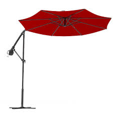 8 Foot Patio Umbrella by Red Cantilever Umbrellas Patiosunumbrellas Com
