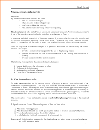 11 situation analysis template loan application form