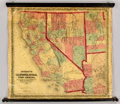 Arizona California Map by Bancroft U0027s Map Of California Nevada Utah And Arizona David