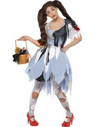 Dorthy Halloween Costumes Dorothy Halloween Costume Deadly Dorothy Costume Ladies