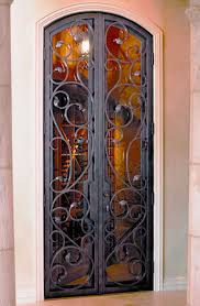 artistic wine cellar doors ultimate iron works wine bar
