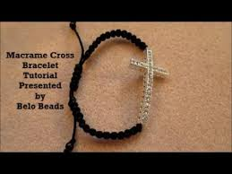 cross knot bracelet images Macrame knot and cross bracelet tutorial easy step by step jpg