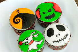 nightmare before christmas cupcake toppers nightmare before christmas cupcakes christmas decor inspirations