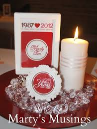 Anniversary Centerpiece Ideas by 26 Best Anniversary Party Decorations Images On Pinterest Diy