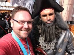 Black Beard Flag Assassin U0027s Creed Iv Black Flag At Comic Con Coin Op Tv