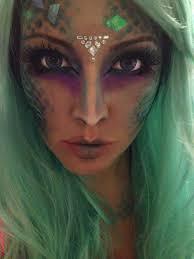 Mermaid Halloween Makeup Ideas Siren Costume Google Search Mermaid Siren Costume Pinterest