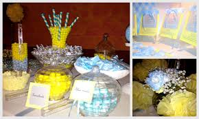 yellow and gray baby shower decorations yellow grey blue babyshower estrellita by mamá