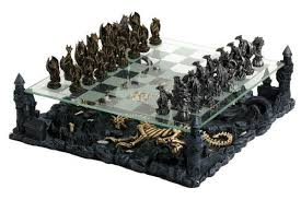 fantasy chess set 3d dragon chess set pewter chess pieces glass chess board