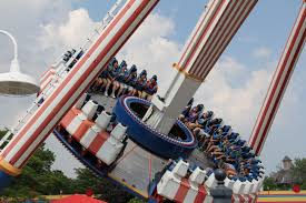 Great America Six Flags Rides Revolution Six Flags Great America