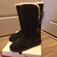 womens paw boots size 12 bearpaw on poshmark