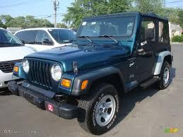 jeep maruti 1998 emerald green pearl jeep wrangler sport 4x4 31478605