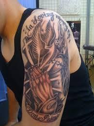 religious tattoos for shoulder ideas for for