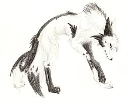 yin yang wolf by lycanthrope818 on deviantart