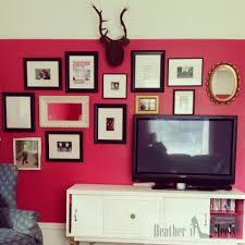 pink feature wall living room best livingroom 2017