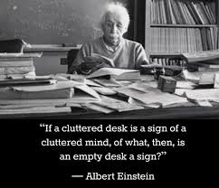 quote einstein everyone is a genius messy desks messy church phillip wright