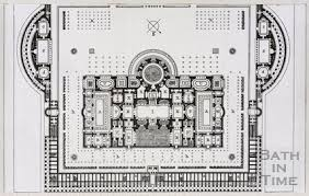 baths of caracalla floor plan plan of the baths of caracalla in rome by 10524 at bath in time