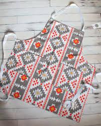 Custom Aprons For Women Tribal Print Apron Boho Apron Indie Style Gift Boho Style